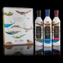 Coffret 3 bouteilles d'huile d'olive vierge extra (3x500ml) - ARBEQUINA - SEÑORIOS de RELLEU