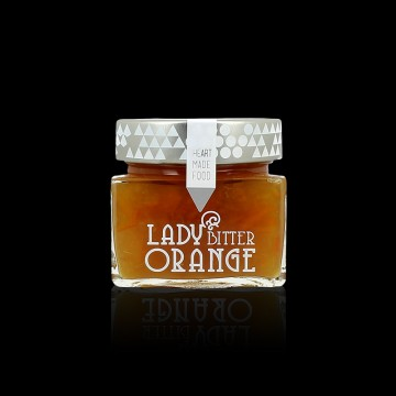 Confiture écologique d'oranges amères
