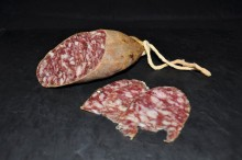 Iberic bellota sausage - piece of 600gr approx.